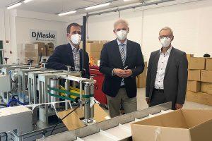 Einstieg in die Maskenproduktion