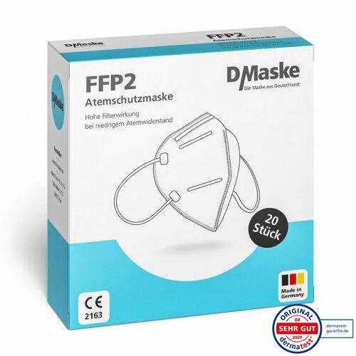 20 Stück Packung FFP2 Masken