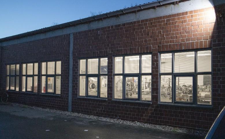 Außenansicht Maskenfabrik