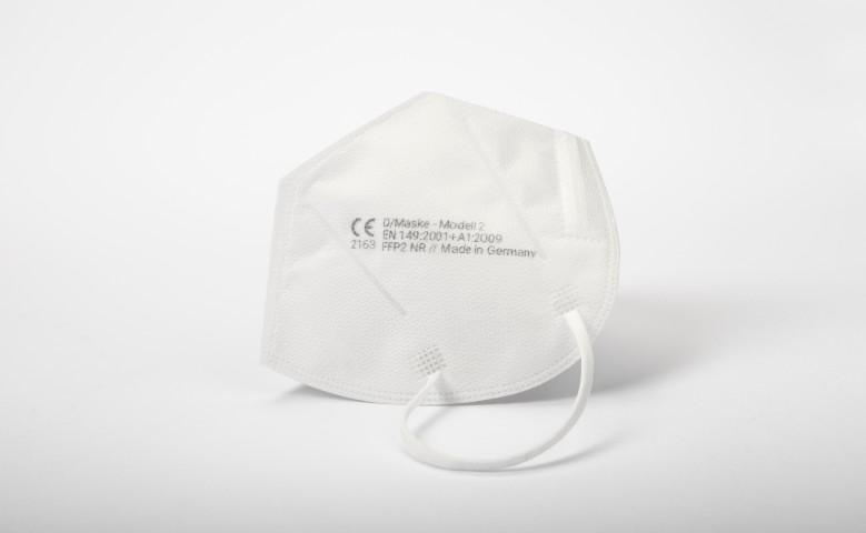 Abbildung FFP2 Maske D/Maske