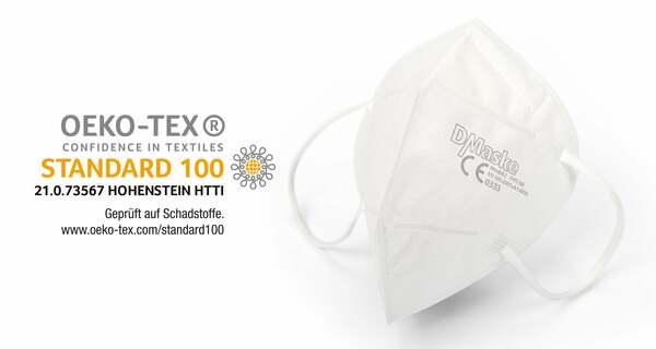 FFP2 OEKO-TEX Zertifikat MASKE